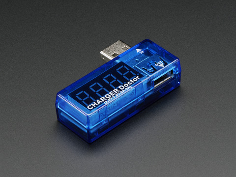 USB Charger Doctor - In-line Voltage and Current Meter