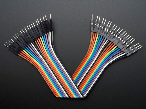 Premium Male/Male Jumper Wires - 20 x 6