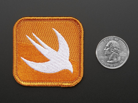Swift - Skill badge, iron-on patch