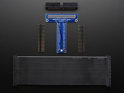 Adafruit Pi T-Cobbler Plus Kit Breakout for 2x20 Raspberry Pi