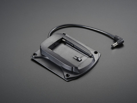 Camcorder Battery Holder/Adapter for Sony NP-F750 w/ DC Jack