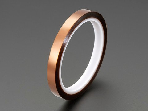 High Temperature Polyimide Tape - 1cm wide x 33 meter roll