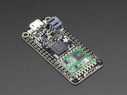 Adafruit Feather 32u4 RFM69HCW Packet Radio - 868 or 915 MHz