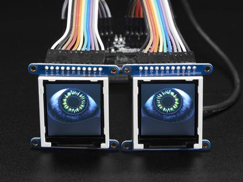 Adafruit Animated Eyes Bonnet for Raspberry Pi Mini Kit