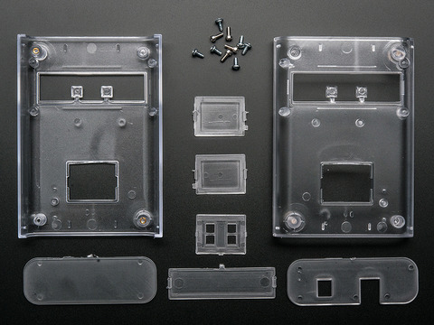Clear Enclosure for Arduino - Electronics enclosure