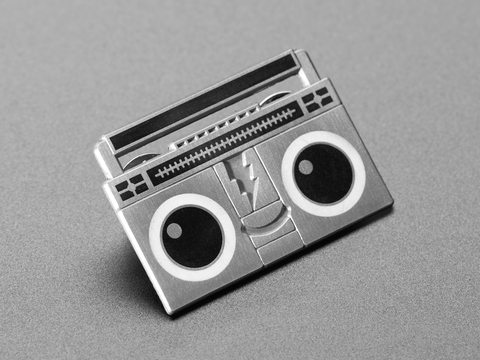 Boomy the BoomBox - Limited Edition Enamel Pin