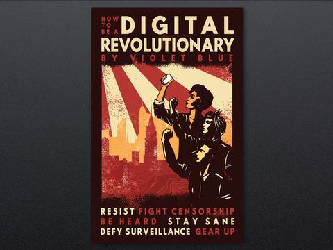 How To Be A Digital Revolutionary E-Book with USB Bracelet