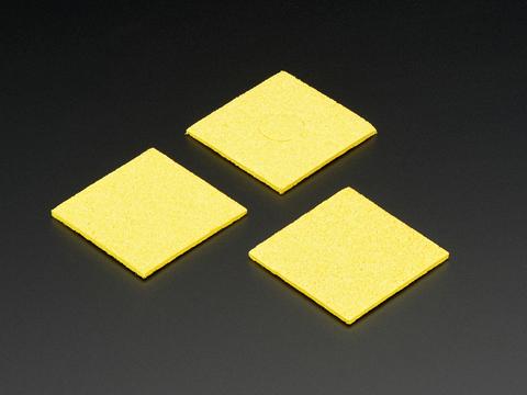 Square 60mm x 60mm Soldering Sponge – 3 Pack