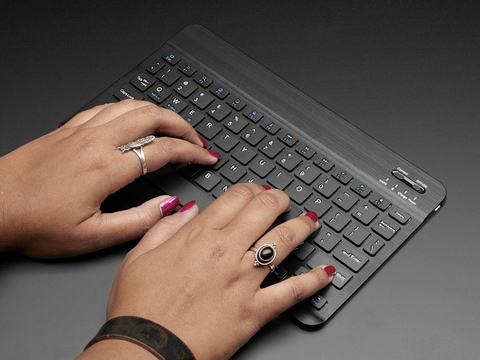 "10"" Bluetooth Keyboard Black"