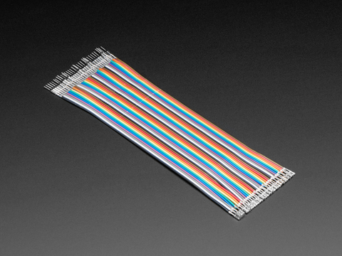 Premium Male/Female Raw Jumper Wires - 40 x 6