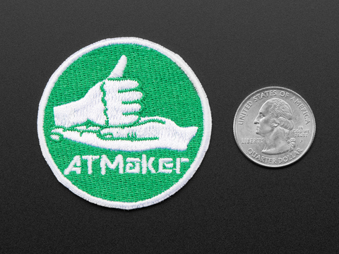 ATMakers – Skill Badge, iron-on patch