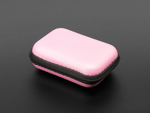 Maker-Friendly Zipper Case - Pink
