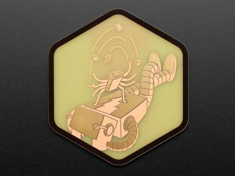 Adafruit PCB Coaster - Hans + Adabot