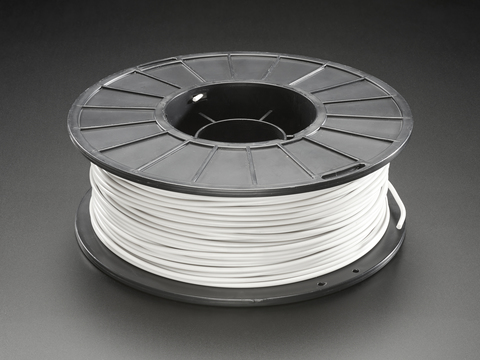PLA Filament for 3D Printers - 2.85mm Dia. - Cool Gray - 1 Kg
