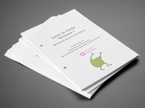 Love To Code: Volume 1 Add-on Booklet Kit