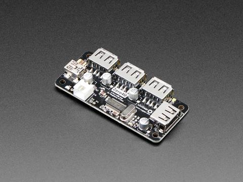 Zero4U - 4-Port USB Hub without Pogo Pins