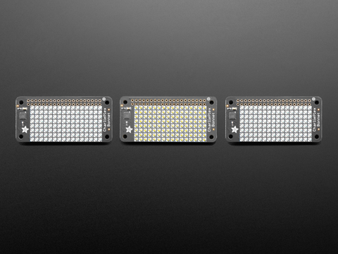 Adafruit CharliePlex LED Matrix Bonnets - 8x16 LEDs