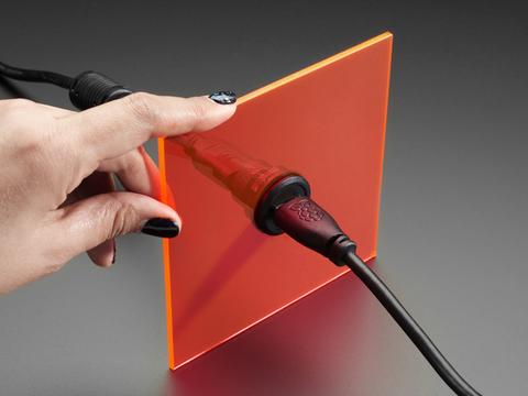 HDMI Round Panel Mount Plug