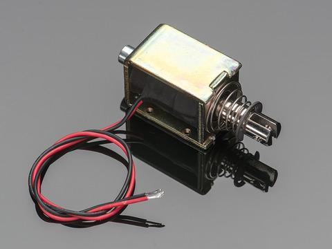 large push-pull solenoid id: 413 - $14 95 : adafruit industries, unique &  fun diy electronics and kits