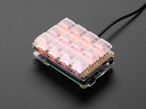 Pimoroni Keybow Mini Mechanical Keyboard Kit with Raspberry Pi