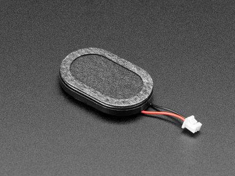 Mini Oval Speaker with Short Wires - 8 Ohm 1 Watt