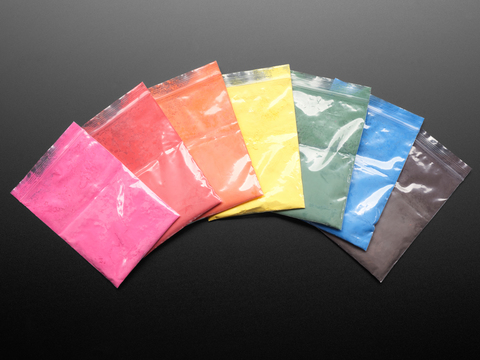 Thermochromic Pigments - Rainbow Pack (7 Colors)
