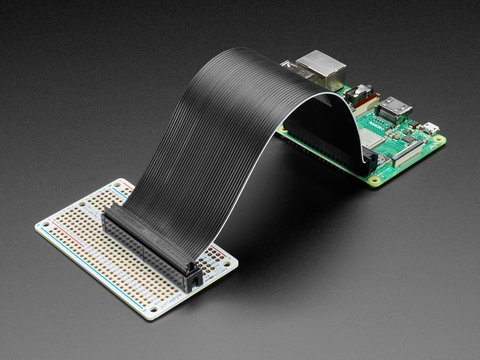 Adafruit Perma-Proto 40-Pin Raspberry Pi Half-Size PCB Kit