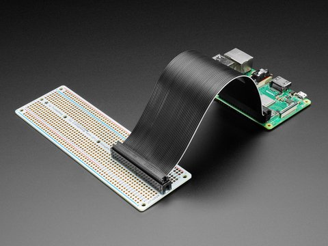 Adafruit Perma-Proto 40-Pin Raspberry Pi Breadboard PCB Kit