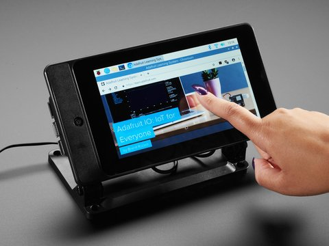 "SmartiPi Touch 2 - Stand for Raspberry Pi 7"" Touchscreen Display"