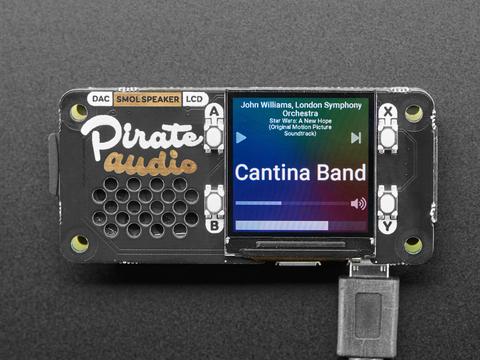Pirate Audio: Speaker for Raspberry Pi - Built-in 1W Speaker