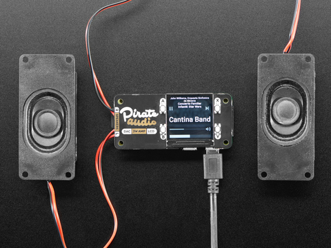 Pirate Audio: 3W Stereo Speaker Amp for Raspberry Pi