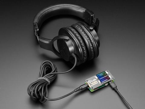 Pimoroni Pirate Audio: Headphone Amp for Raspberry Pi