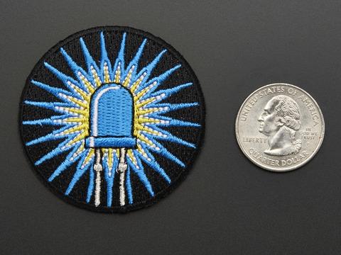 LEDs - Skill badge, iron-on patch