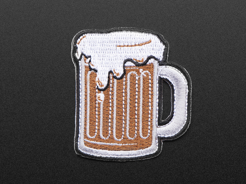 """Brewing"" - Skill badge, iron-on patch"