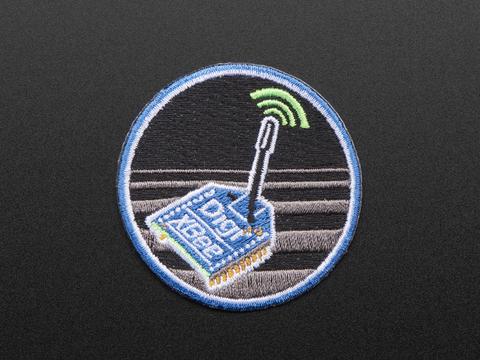 Digi XBee - Skill badge, iron-on patch