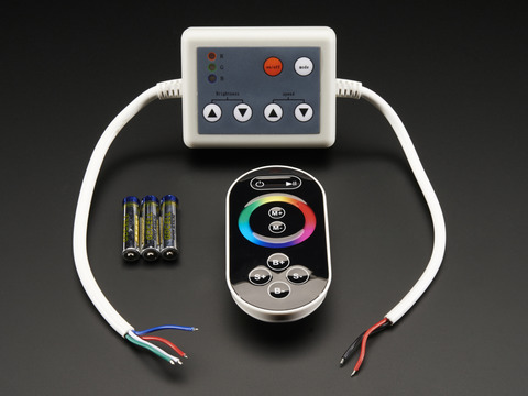 RF Touch Wheel Controller for Analog RGB LED Strips