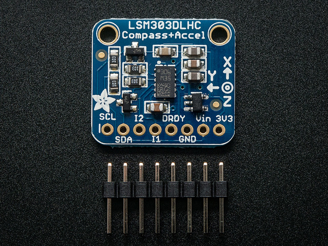 Triple-axis Accelerometer+Magnetometer (Compass) Board - LSM303