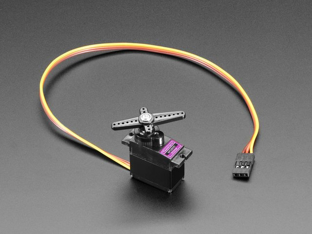 Micro Servo - MG90D High Torque Metal Gear