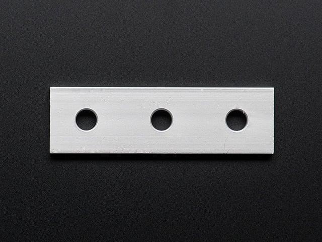 Coupling Plate - 3 Holes - 20x20 Aluminum Extrusion