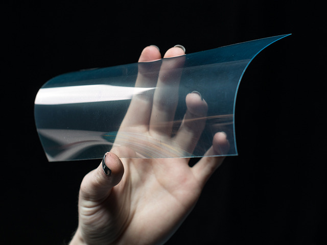 ITO (Indium Tin Oxide) Coated PET Plastic - 100mm x 200mm