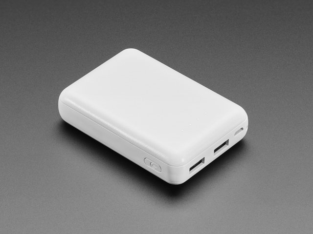 USB Battery Pack for Raspberry Pi - 10000mAh - 2 x 5V outputs