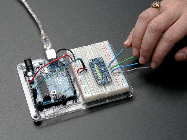 CAP1188 - 8-Key Capacitive Touch Sensor Breakout - I2C or SPI
