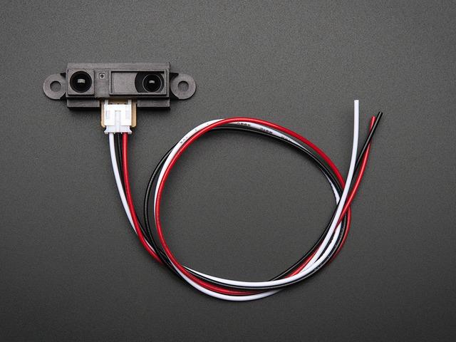 IR distance sensor includes cable (10cm-80cm)