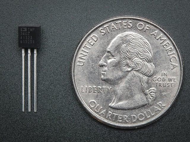 TMP36 - Analog Temperature sensor