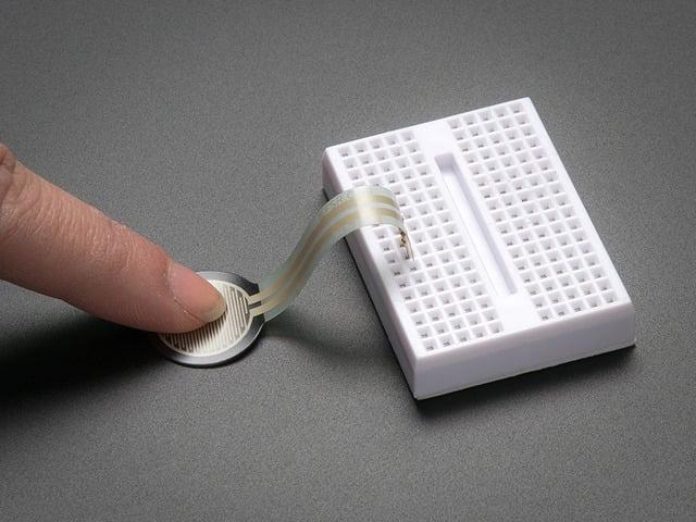 Round Force-Sensitive Resistor (FSR)