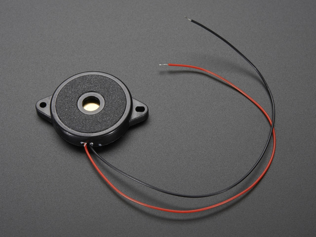 Large Enclosed Piezo Element w/Wires