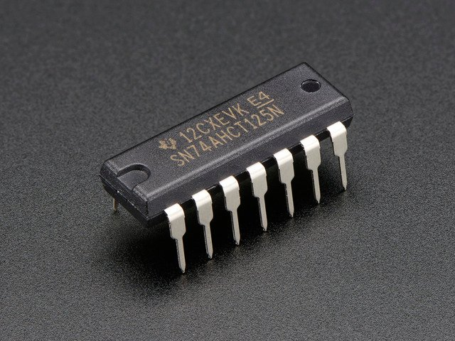 74AHCT125 - Quad Level-Shifter (3V to 5V)