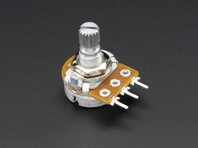 Panel Mount 1K potentiometer (Breadboard Friendly)