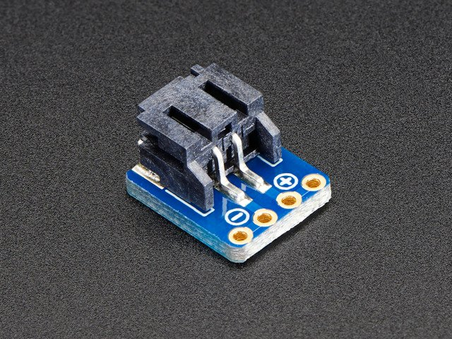 JST-PH 2-Pin SMT Right Angle Breakout Board