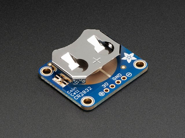 20mm Coin Cell Breakout Board (CR2032)